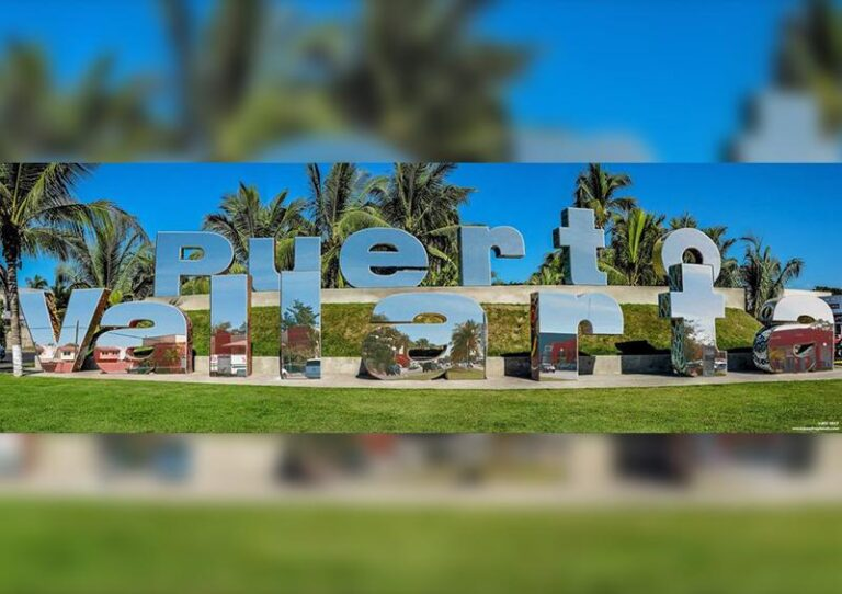 After the controversy, they cancel the project of maxiletras of Puerto Vallarta mirror effect