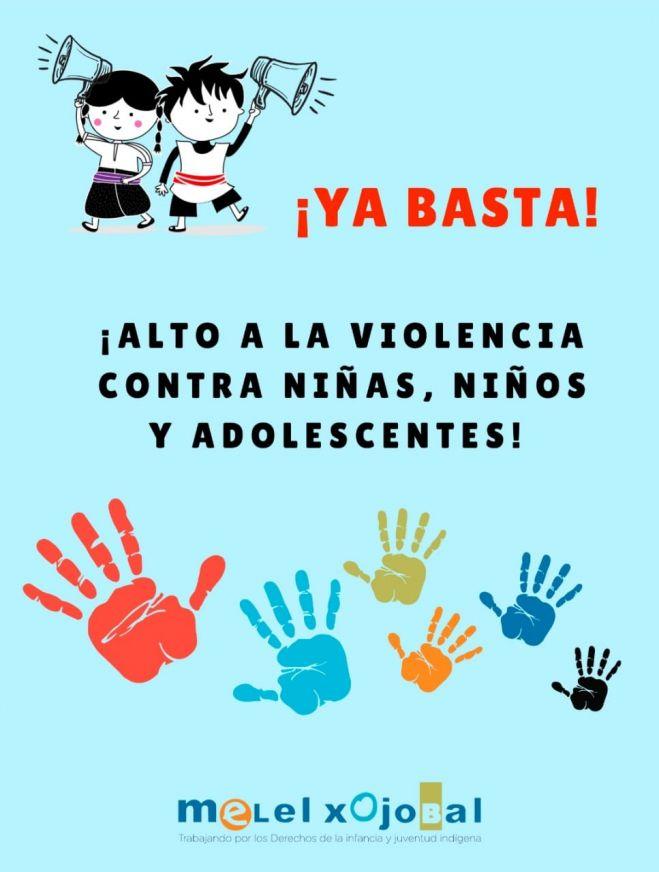 CALL TO STOP VIOLENCE AGAINST CHILDREN AND ADOLESCENTS IN SAN CRISTÓBAL DE LAS CASAS